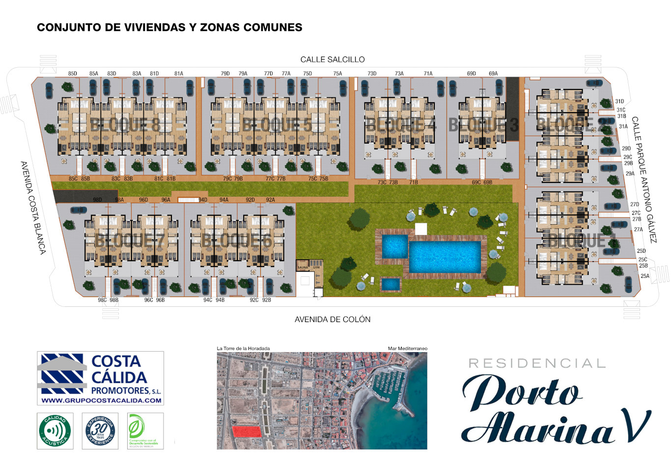 Costa Cálida Promotores - Porto Marina V porto marina 5,viviendas,torre de la horadada,alicante
