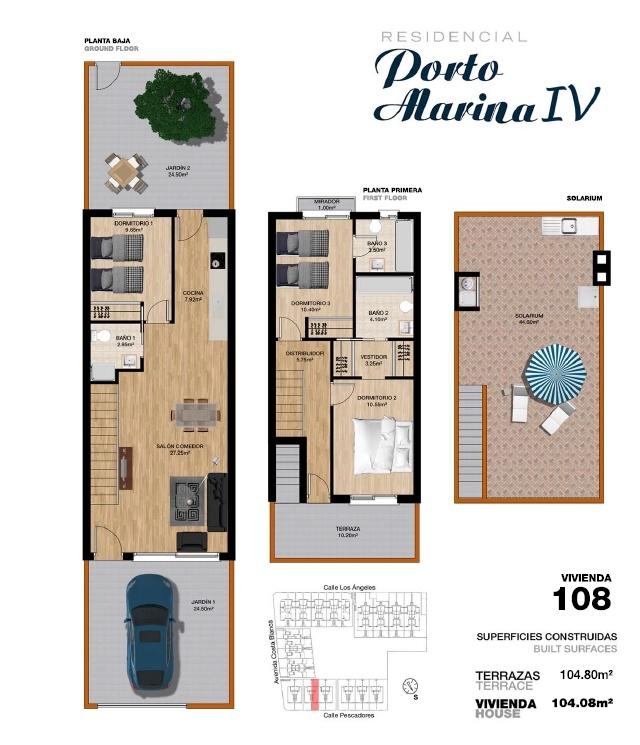 Costa Cálida Promotores - Porto Marina IV porto marina 4,homes,torre de la horadada,alicante