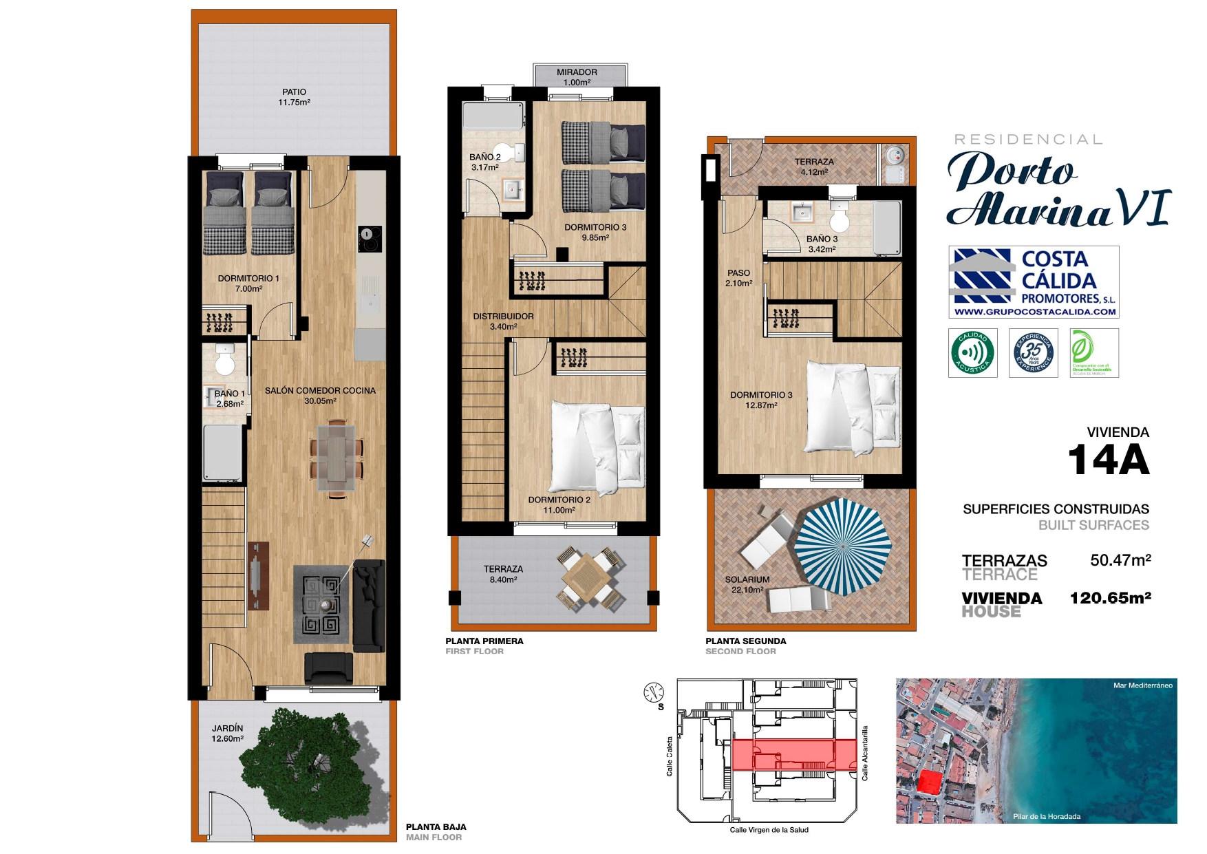 Costa Cálida Promotores - Porto Marina VI porto marina 6,viviendas,alicante,torre de la horadada
